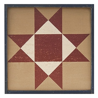 TheHearthsideCollection Star Quilt Box Sign Wall D cor