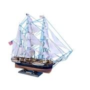 Handcrafted Nautical Decor 32'' Wooden Charles W. Morgan Limited Model Whaling Boat