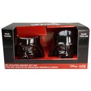 Zak! Star Wars Classic Vader Sculpted Piggy Bank and Sculpture Coffee Mug Set