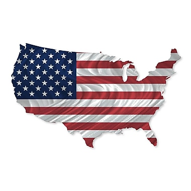 All My Walls USA Country Flag Wall D cor