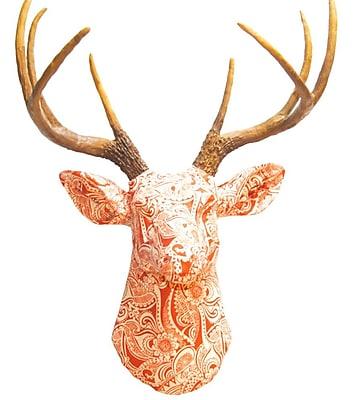 Near and Deer Faux Taxidermy Fabric Deer Head Wall D cor