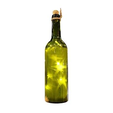 Gracie Oaks Boyertown Green PVC Star Luminated Bottle