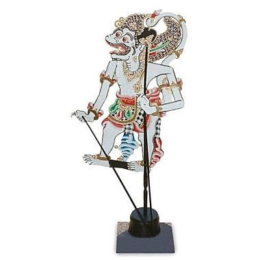 Novica Decorative Monkey Hero Leather Shadow Puppet