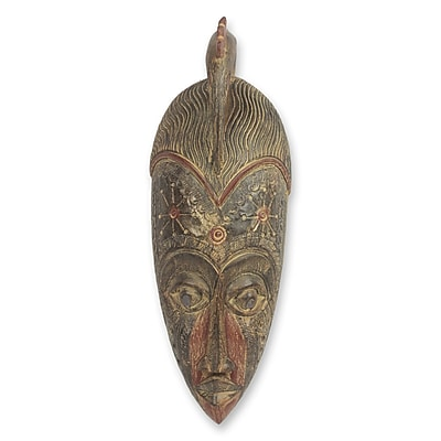 Novica Decorative Victory Fair Trade African Mask