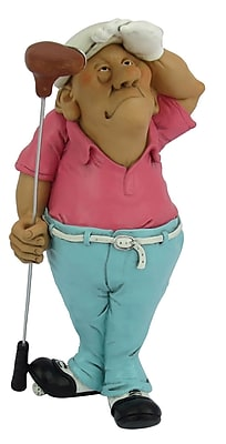 Hi-Line Gift Ltd. Occupations Golfer Figurine