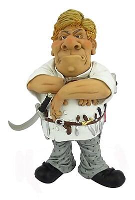 Hi-Line Gift Ltd. Occupations Chef Figurine