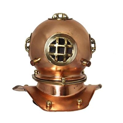 EC World Imports Decorative U.S. Navy Mark-V Diving Helmet
