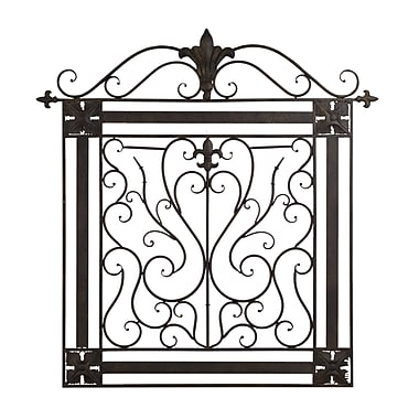 BayAccents Square Iron Wall D cor