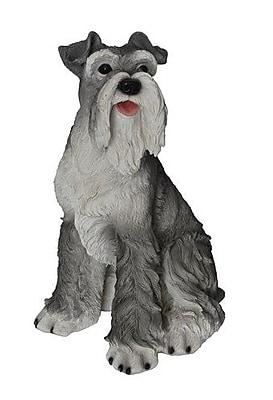 Hi-Line Gift Ltd. Schnauzer Seated Dog Figurine