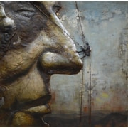 Empire Art Direct ''Ascent on Rushmore'' Mixed Media Iron Wall D cor
