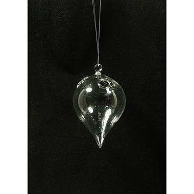 Fantastic Craft Decorative Glass Hanging Tear-Drop