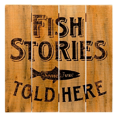 Prinz ''Fish Stories Told Here'' Wall D cor