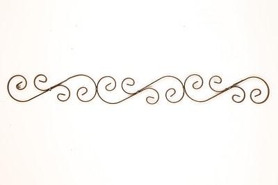 MyAmigosImports Small Iron Scroll Wall Decor