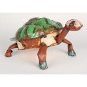 MyAmigosImports Small Recycled Metal Turtle Figurine