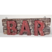 MyAmigosImports Rustic Wooden Bar Sign Wall Decor