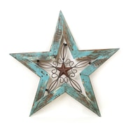 MyAmigosImports Texas Star Wall Decor; Turquoise