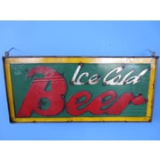 Rustic Arrow Framed Ice Cold Beer Wall D cor