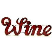 Rustic Arrow Small Wine w/ Edge Sign Wall D cor