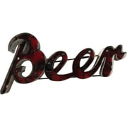 Rustic Arrow Small Beer w/ Edge Sign Wall D cor