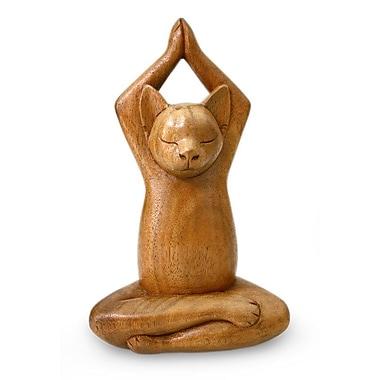 Novica Hand Crafted Wood Figurine
