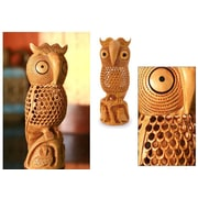 Novica Wood Bird Sculpture