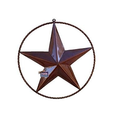 Rustic Arrow Rustic Star w/ Rope Ring Wall D cor