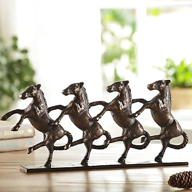 SPI Home Dancing Horses on Parade Figurine