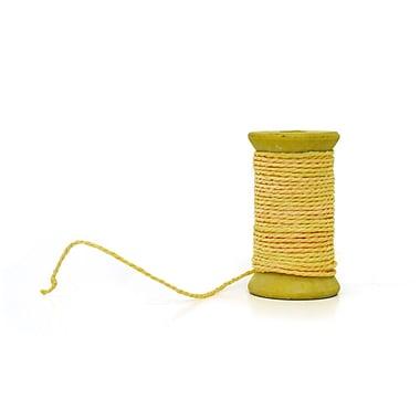 SheasWildflowers Decorative Paper Rope Ribbion; Yellow