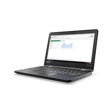 Lenovo-Chromebook IdeaPad N23 Yoga ZA260016US 11,6 po écran tactile, 1,7 GHz MediaTek MTK 8173C, 32 Go eMMC, 4 Go DDR3, Chrome