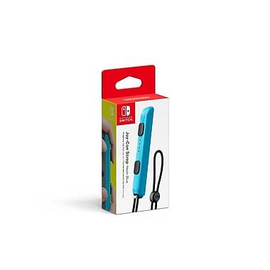 Nintendo Switch - Dragonne de manette Joy-Con, bleu-néon