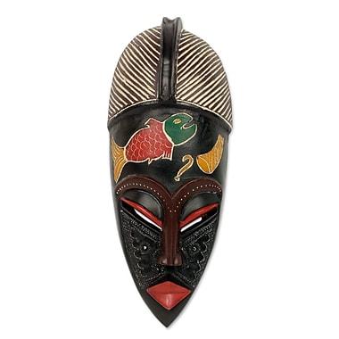 Novica Royal Beninese Mask Wall D cor