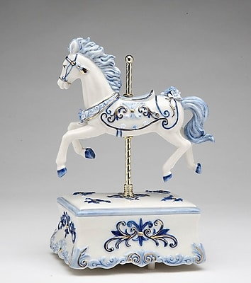CosmosGifts Decorative Carousel Horse Music Box