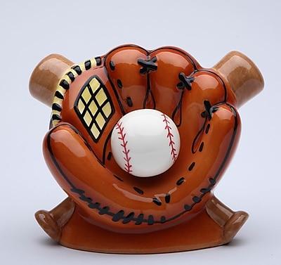 CosmosGifts Baseball Piggy Bank