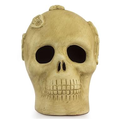 Novica Altar Skull Aztec Bust