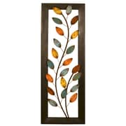Stratton Home Decor Winding Leaves Panel Wall D cor