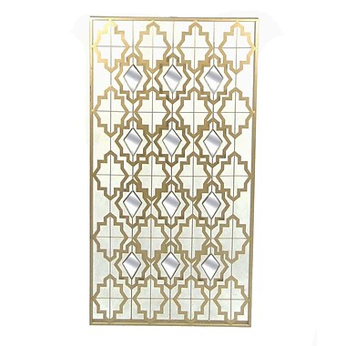 Sagebrook Home Metal and Mirror Wall D cor
