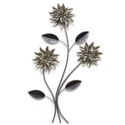 Stratton Home Decor 3 Stem Flowers Wall D cor