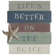 Stratton Home Decor Life's Better on the Beach Wall D cor