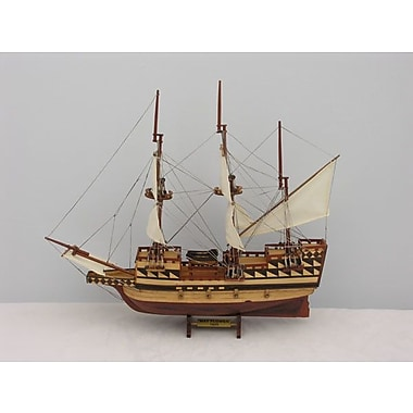 Old Modern Handicrafts Small May Flower Boat