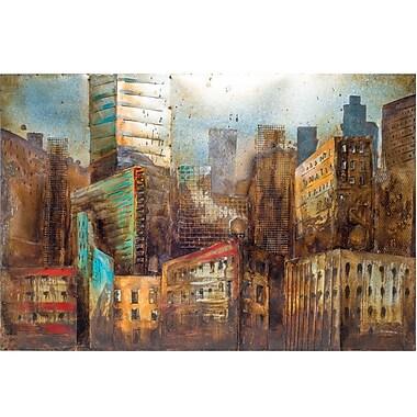 Urban 9-5 City Life Wall Decor