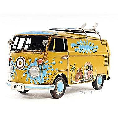 Old Modern Handicrafts Decorative 1967 Volkswagen 1:18 Deluxe Bus