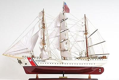 Old Modern Handicrafts Us. Coast Guard Eagle E.E. Sailing Model Ship