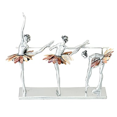 Urban Designs Decorative Three Ballet Dancers Figurine