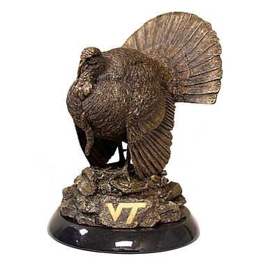 Tailgate Toss NCAA Tim Wolfe Figurine; Virginia Tech
