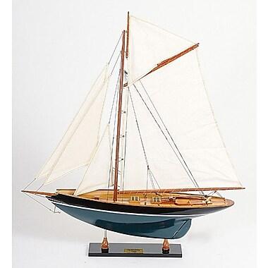 Old Modern Handicrafts Penduick Painted Model Boat