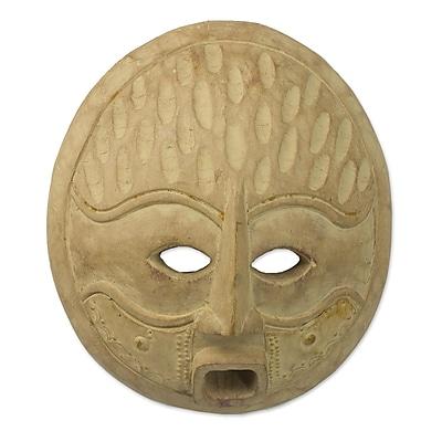 Novica Artisan Crafted Wood Mask Wall D cor
