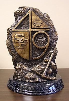Tailgate Toss NFL Tim Wolfe Sculpture; San Francisco 49ers