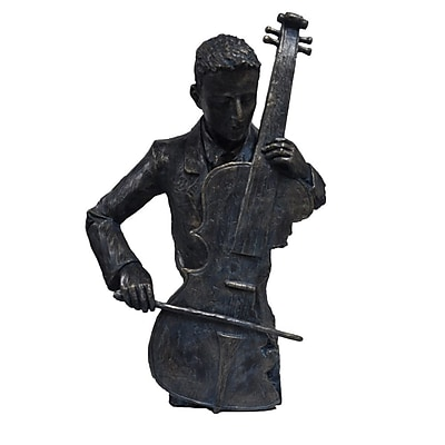 The Urban Port Violin Player Figurine