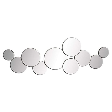 UMA Enterprises Miranda Mirrored Circles Wall D cor