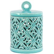 Urban Trends Ceramic Round Box; 12.75'' H x 8.5'' W x 8.5'' D